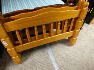 Very Nice light Colored Wooden Matching Head and Foot Board