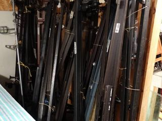 lot of Metal Bed Frame Pieces