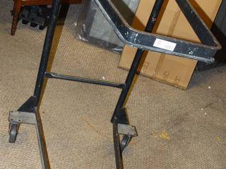 Small Black Furniture Cart