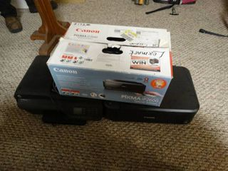 lot of three printers   scanners two canon and one HP