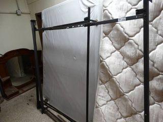 Metal Bed Platform on Wheels