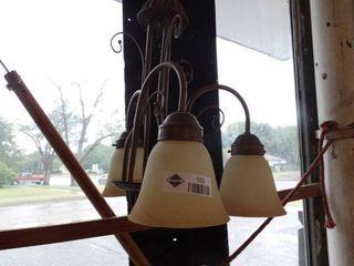 Hanging 3 light fixture