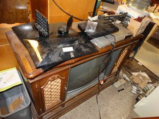 Flat screen tv bases dvd players and and older tv