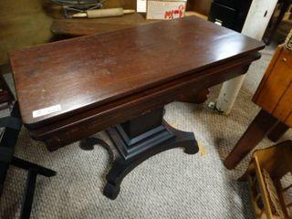 Antique Folding Top Table