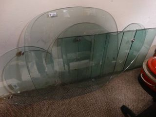 Different sizes and designs of glass