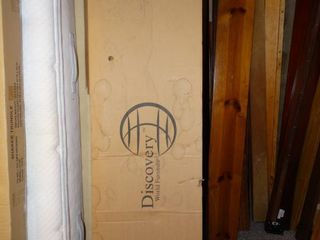 Discovery wooden footboard