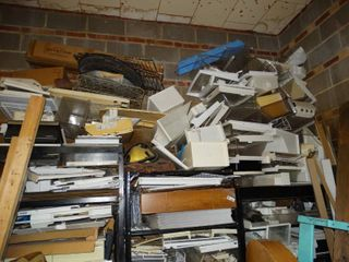 large lot of office supplies and organization stuff