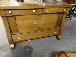 large wooden chest