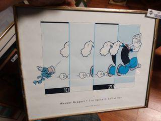Framed Poppi print