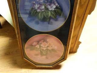2 collector plates in frame