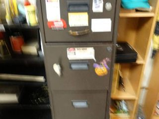 4 drawer file cabinet w  contents