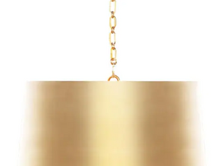 Fanning drum pendant