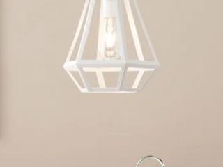 Copper Grove Bauntal White Caged lantern