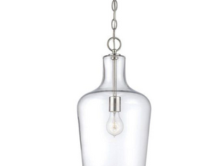 Carey 1 light Cylinder Pendant