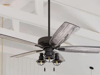 The Gray Barn Kedelston 52  Coastal Ceiling Fan