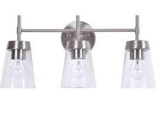 Wynn 10 inch 3 light Vanity   12  Retail 89 99