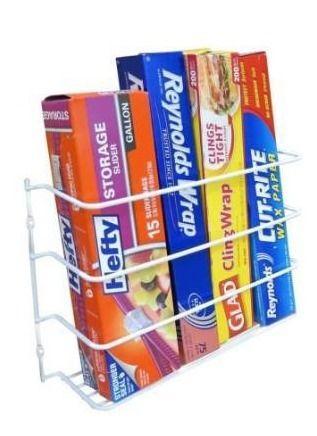 Evelots wrap foil organizer rack