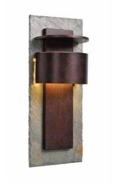 Darius 24a Dark Sky lED wall lantern