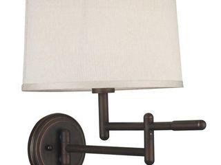 Copper Grove Marston 1 light Copper Bronze Swing Arm Wall lamp Retail 94 49