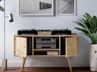 Carson carrington shorewood mid century shelf cabinet