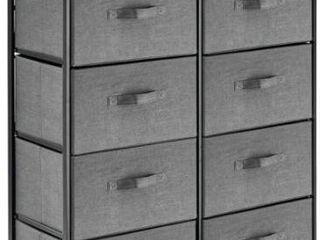 8 Drawers Vertical Dresser Storage Tower