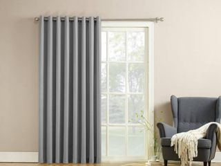 Sun Zero Grant 100  x 84  Grommet Top Patio Curtain Panel