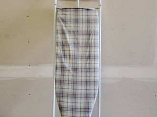 Wall Drop Down Ironing Board   Plaid  50 in  length 17 in  Width