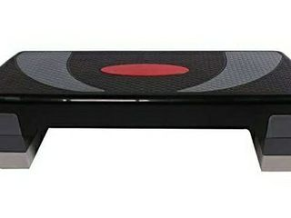 aokung Adjustable Workout Aerobic Step in Fitness   Exercise Step Platform Trainer Stepper w Risers Adjust 4    6    8