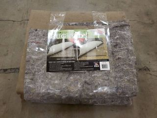 MOHAWK HOME  Premium Dule Surface 1 4in  RUG PAD Grey Brown 60in x96in