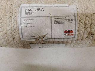 NATURA Floor Rug  White 2 6 A10