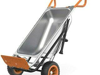 WORX Aerocart 8 in 1 Wheelbarrow   Yard Cart   Dolly