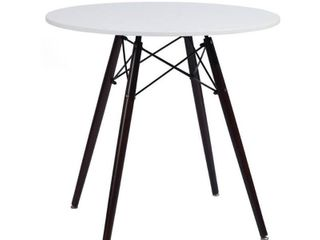 FURNITURE R  Chad White1 Dinning Table  80x80x74cm
