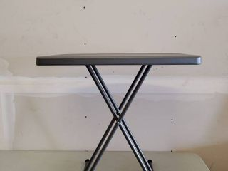 PERSONAl TABlE CHARCOlE  ADJUSTABlE And Collapsible 20x30