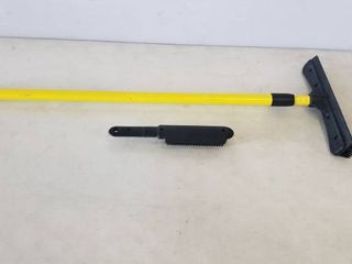 35in Adjustable length Squeegee And Squeegee Brush  Adjustable Up To 5ft