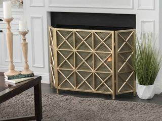Margaret 3 Panel Fireplace Screen by Christopher Knight Home Retail 111 00