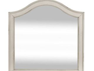 Rustic Traditions White Vanity Desk Mirror Retail 82 99