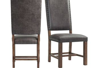 The Gray Barn Coach Ride Side Chair  Set of 2  Retail 329 49