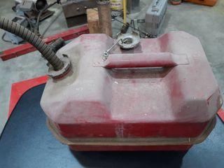 Metal Gas Tank