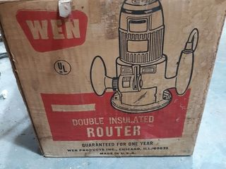 WEN double insulated router