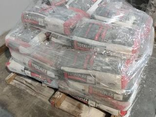 Pallet of Total Flex Mortar  White