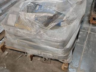 Pallet of Grout  Patch and Mortar