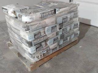 Pallet of TEC Skill Set 50 lb Gray Powder Polymer Modified Mortar