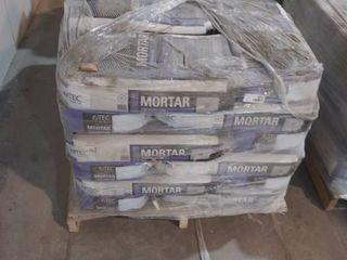 pallet of mortar for porcelain gray  30  white  3