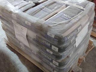 Pallet of TEC Skill Set 50 lb White Powder Polymer Modified Mortar