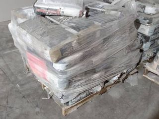 Pallet of Miscellaneous Mortar
