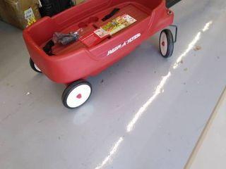 Plastic Radio Flyer Wagon