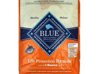Blue Buffalo life Protection Formula Chicken and Brown Rice large Breed Adult Dry Dog Food  30 lb
