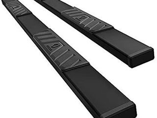 Tyger Auto TG RS5C50238 Black 5  Riser Running Boards Works with 2019 2020 Chevy Silverado GMC Sierra 1500  NOT FIT 2019 lD or limited  2020 2500 3500HD Double Cab Side Step Rails Nerf Bars