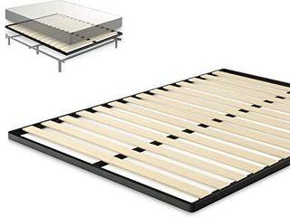 Zinus Deepak Easy Assembly Wood Slat 1 6 Inch Bunkie Board   Bed Slat Replacement  full