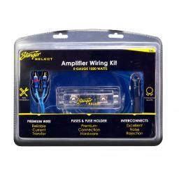 Stinger Ssk0 Select Wiring Kit With Ultra flexible Copper clad Aluminum Cables 0 Gauge